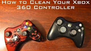 How To Clean Your Xbox 360 Controller