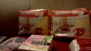 Cvs & Target haul! 11/8/11 Diapers less than $2/pack