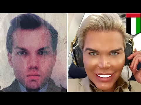 Plastic surgery: Human Ken doll held in Dubai for iffy passport pic; wants to be Barbie - TomoNews