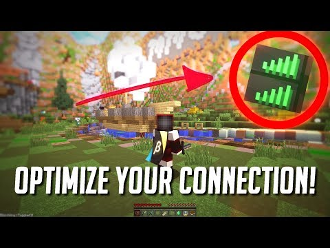 How To Optimize Your Connection For Minecraft! (Advanced Tutorial)