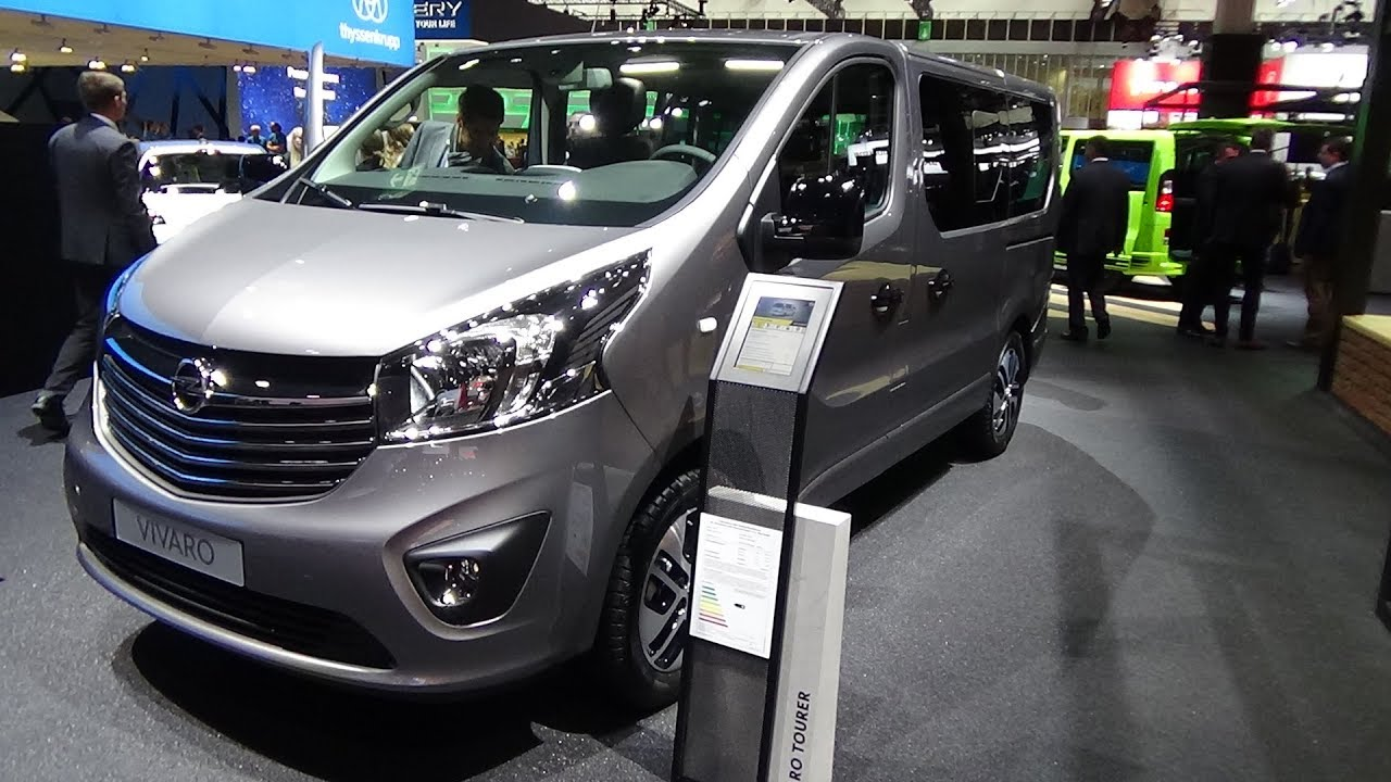 2018 Opel Vivaro Tourer 1.6 BiTurbo Diesel - Exterior and Interior ...