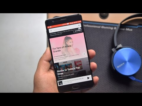 Google Play Music App New Update For India