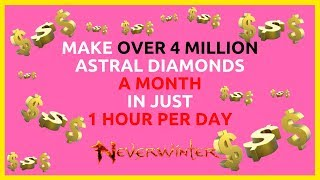 How To Make Over 4 Million AD A Month In Less Then 1 Hour A Day In Neverwinter