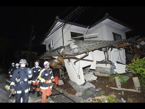Impactantes imágenes de los sismos en Japón