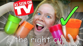 THE RIGHT CUP- DOES THIS THING REALLY WORK?