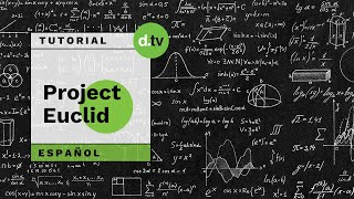DOTLIB - Project Euclid - Tutorial en Español