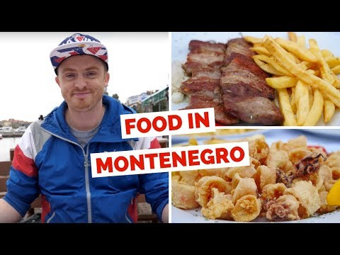 Montenegrin Cuisine - Trying local food in Budva, Montenegro