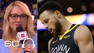 Doris Burke on Warriors Game 4 loss: 'Golden State looks exhausted right now' | SC with SVP
