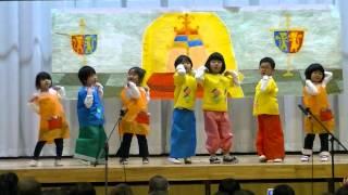 4 years old class Biểu diễn văn nghệ của lớp mẫu giáo 4 tuổi ở Nhật...