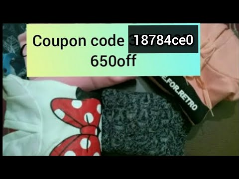 Club factory Clothing Haul discount codes -  18784ce0 Review (part-6) with coupon code 😇