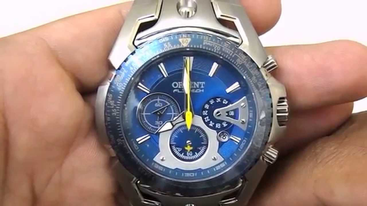 b31eb4d5dc5 Relogio Masculino Orient Flytech Mbttc006 - YouTube