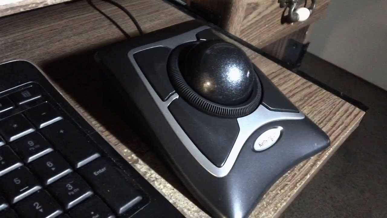Kensington Expert Trackball Mouse Review Youtube