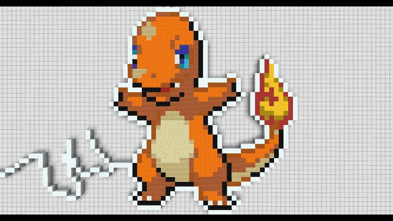 images?q=tbn:ANd9GcQh_l3eQ5xwiPy07kGEXjmjgmBKBRB7H2mRxCGhv1tFWg5c_mWT Pixel Art Pokemon Charmander @koolgadgetz.com.info