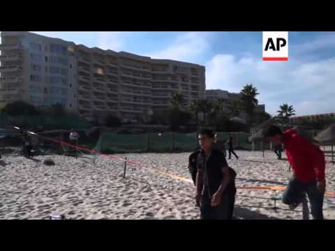 Suicide bomber hits Tunisian resort, no victims