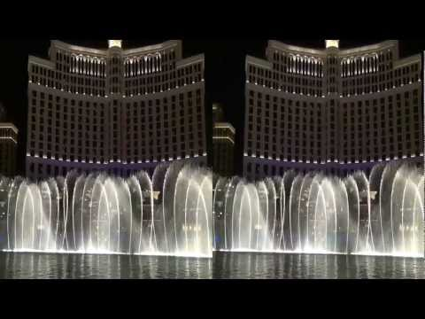Bellagio Fountain Performances in 3D