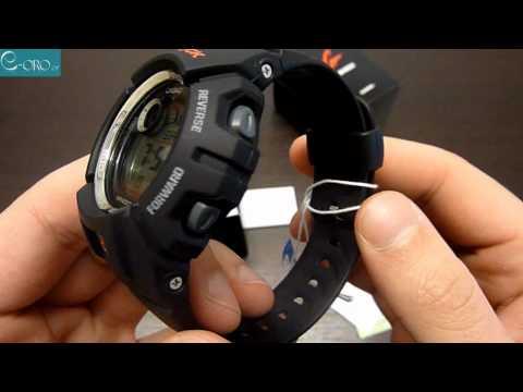 CASIO G-Shock G-2900F-1V - купить часы в официальном