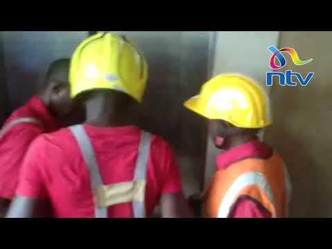 Prison warder stuck inside elevator at Kisumu Law Courts for 4 hours