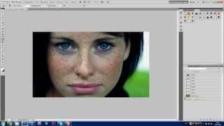 Урок Photoshop. 752 канал (Урок #17 Как в фотошопе избавиться от веснушек) (#ЕвгенийКулик)