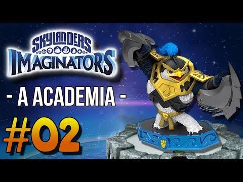 [PT-BR] SKYLANDERS IMAGINATORS #02 - A ACADEMIA!