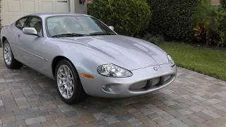 This 2000 Supercharged XKR Coupe is Elegant, Powerful, Beautiful, and All Jaguar