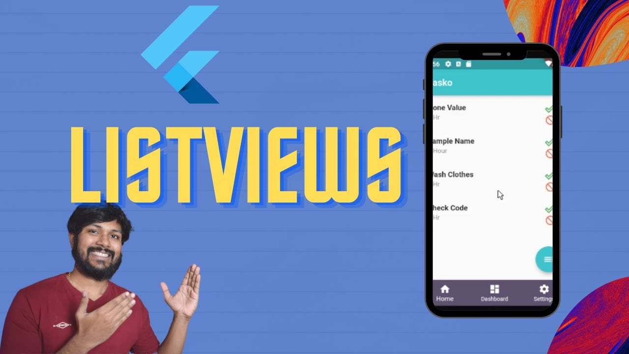 Listview Flutter with Example | Androidmonks - Android Monks