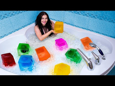 Ледяная ванна! Холодный