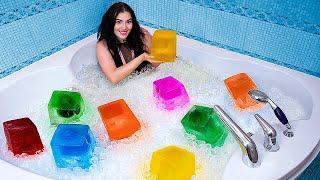 Ледяная ванна! Холодный челлендж!
