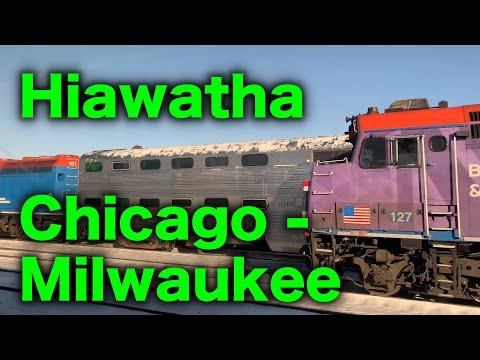 Chicago to Milwauee - Amtrak Hiawatha Service