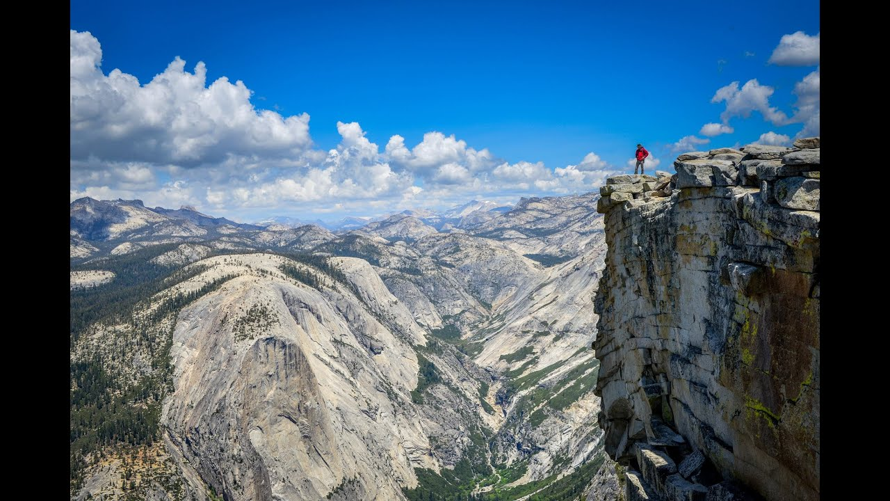 Hiking Half Dome Yosemite National Park Youtube