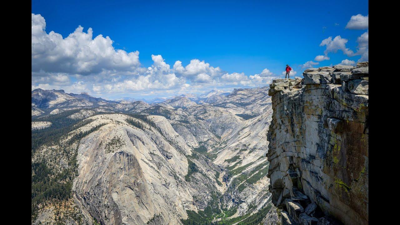 Hiking Half Dome Yosemite National Park Youtube