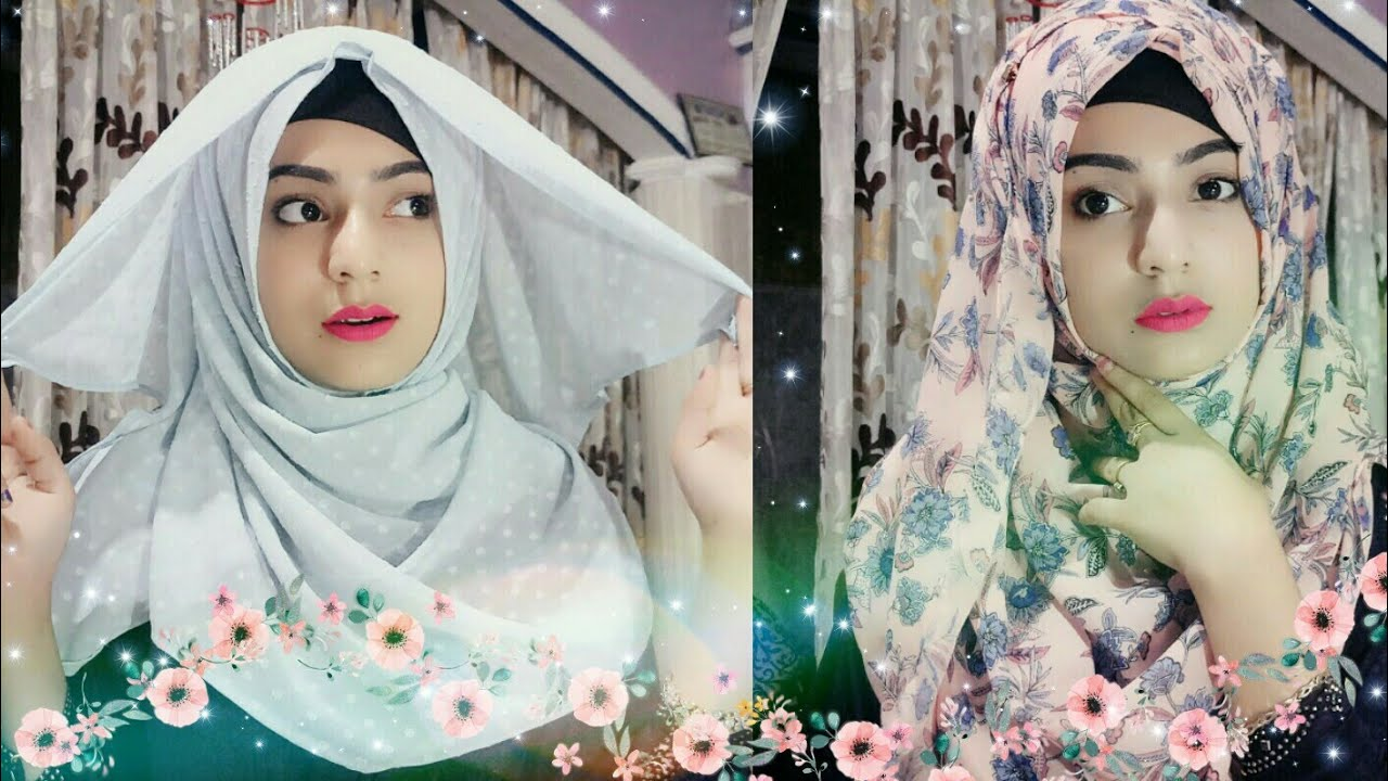 easy summer hijab tutorial.. ramadan special.. summer style 2018