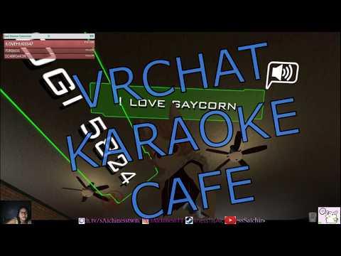 VRCHAT MOMENTS #03 KARAOKE CAFE