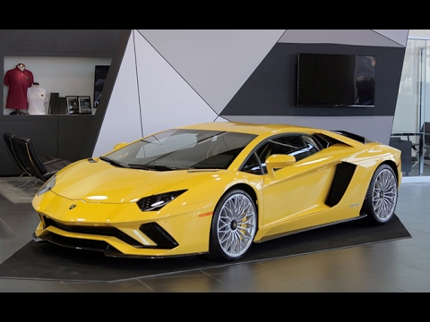 Lamborghini Gallardo 2018 Interior >> 2018 Lamborghini Aventador S First Look - YouTube