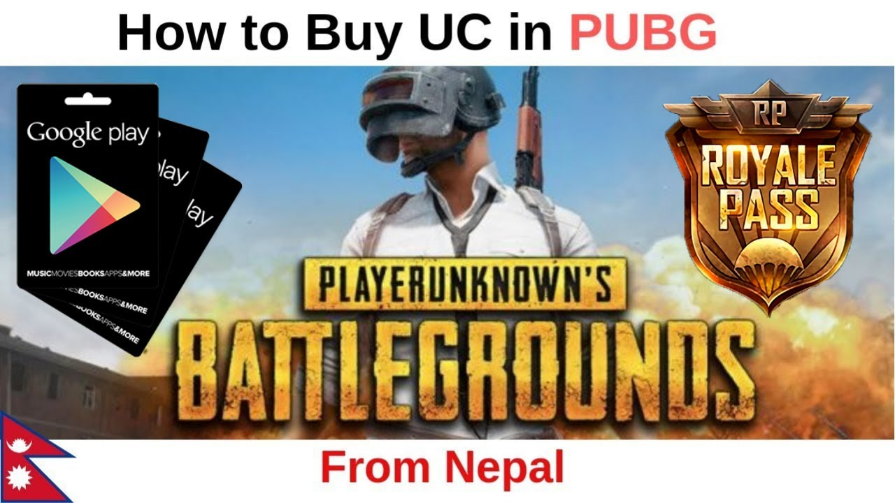 How to buy UC in PUBG Mobile in Nepal Using Google Play Gift Card