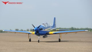 TUCANO 60CC GP/EP SCALE 1:4 ¼ ARF PH115 WITH TRUE SOUND PHOENIXMODEL