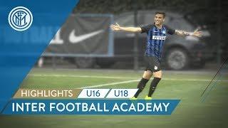 HIGHLIGHTS  DERBYMILANO U16 and INTER U18  Inter Football Academy