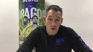 Christian Colombo Pre-Fight for UFC Brazil