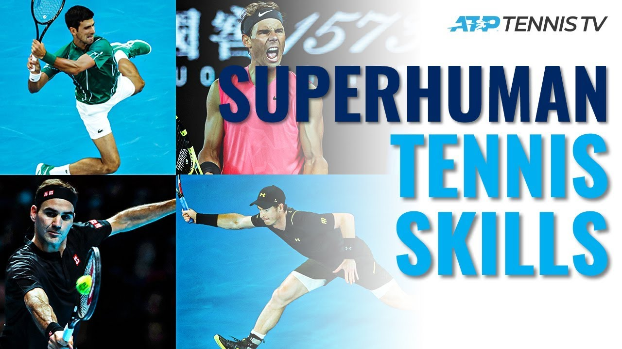 Superhuman Tennis Skills! Djokovic Flexibility, Federer Hand Skills & More…