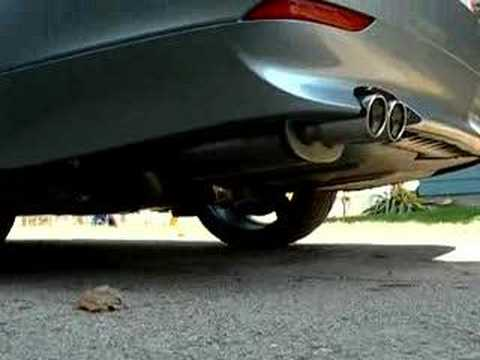Bmw 530i E60 Magnaflow Exhaust 14862 Youtube