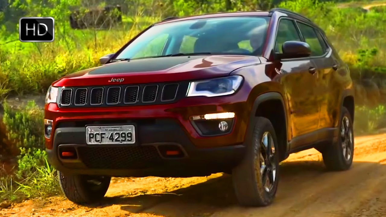 2017 Jeep Compass SUV OFF ROAD Test Drive HD YouTube