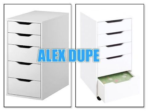 Alex 5 Drawer Dupe Review Youtube