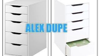 Alex 5 Drawer Dupe + Review
