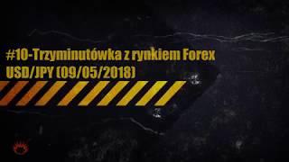 #10-Trzyminutówka z rynkiem Forex-USDJPY (09.05.2018)