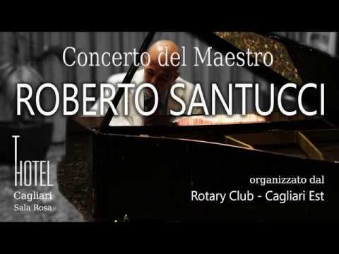 Concerto del Pianista Roberto Santucci al T Hotel di Cagliari