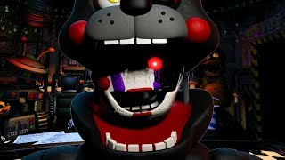 THE MARIONETTE IS INSIDE OF LEFTYS MOUTH! FNAF Ultimate Custom Night (UCN Mod)