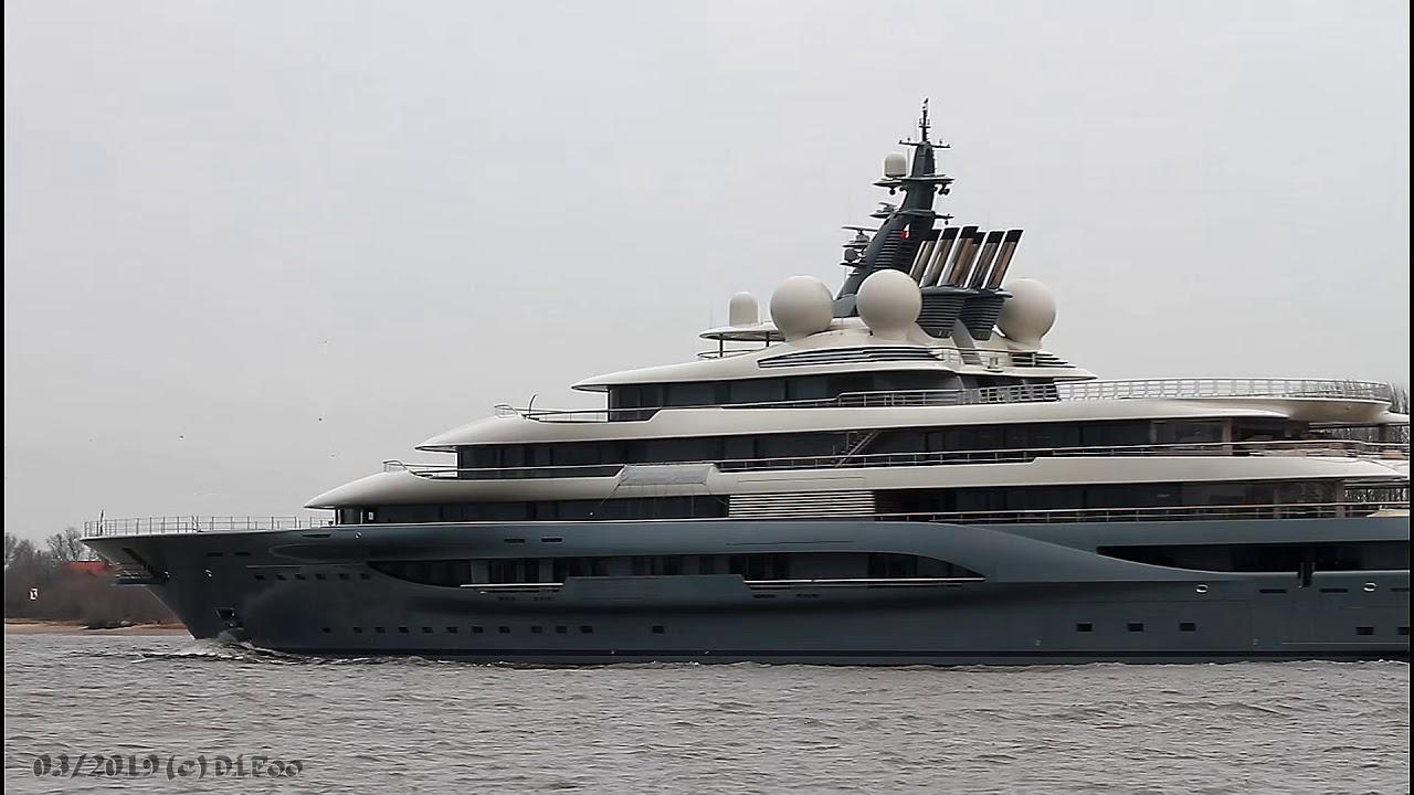 Mega Yacht FLYING FOX | Lürssen Project SHU | Weser Höhe Brake Unterweser |  Baujahr 2018