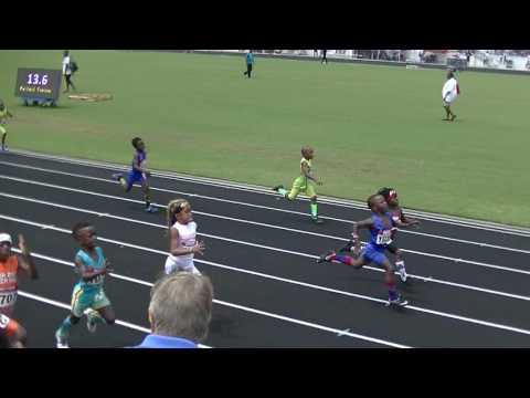 6yr Clint Jean-Pierre 16.03s 100m Finals Mark Trail Invitational 2017