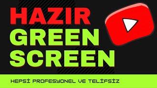 EFSANE GREEN SCREEN GEÇİŞLERİ  Hazır Green Screen Geçiş Efekti