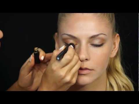 How to Create a Golden Eye Makeup Look thumbnail