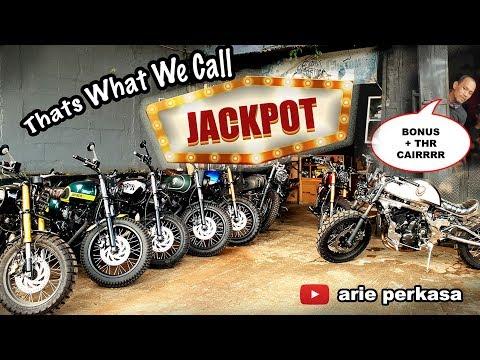 Modifikasi dapet JACKPOT - motor modifikasi selama ramadhan